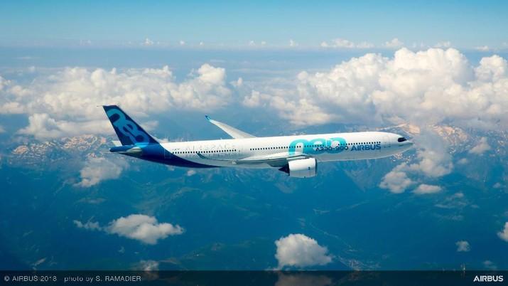 Pesawat Airbus A330-900 milik Garuda Indonesia diduga membawa barang ilegal.