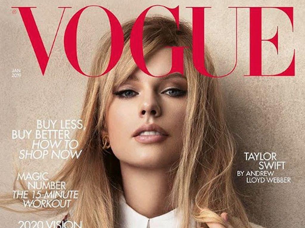 Belum lama ini Taylor Swift menjalani photoshoot dengan majalah Vogue. Dok. Instagram/taylorswift
