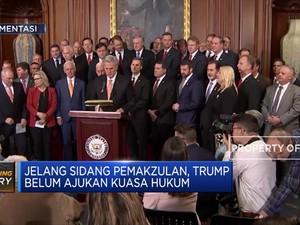 Jelang Sidang Pemakzulan, Trump Belum Punya Pengacara?