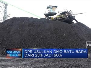 DMO Batu Bara Diusulkan Jadi 60%, Emiten Tambang Tertekan