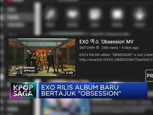 Rilis Album 'Obsession', Exo Kuasai Tangga Album Dunia