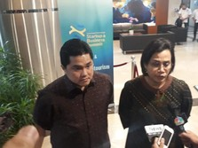 Duet Sri Mulyani-Erick Thohir jadi Pengawas Dana Abadi RI