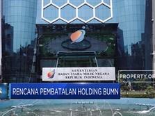 Erick Thohir Ubah Super Holding BUMN Jadi Sub Holding BUMN