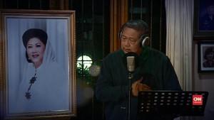 VIDEO: Lagu Rindu dari SBY untuk Ani Yudhoyono