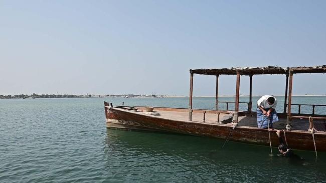 Jika dilacak lebih dalam, leluhur dari banyak keluarga di Uni Emirat Arab umumnya memiliki keterkaitan dengan perdagangan mutiara. (GIUSEPPE CACACE / AFP)