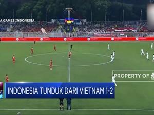 Indonesia Tunduk dari Vietnam 1-2 di Sea Games 2019