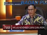 Inflasi November Capai 0,14%