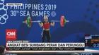 VIDEO: Lisa Setiawati Raih Medali Perak dari Angkat Besi