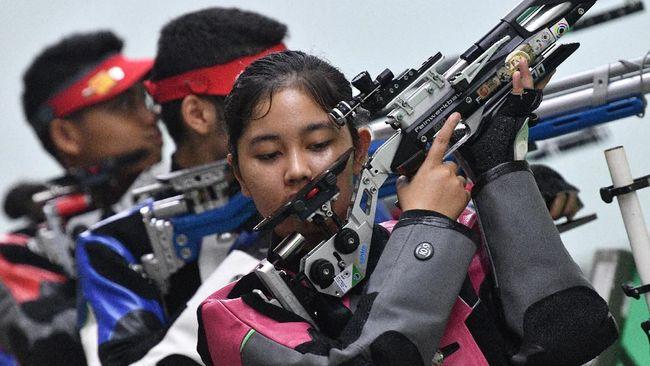 Menembak Tambah Medali Emas Indonesia di SEA Games 2019