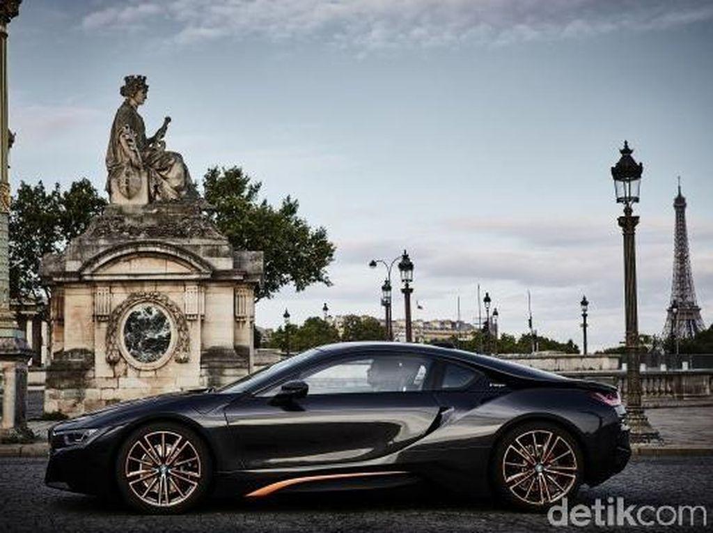 Sebagai perpisahan, BMW menyiapkan edisi terakhir yang disebut i8 Ultimate Sophisto Edition. Pool/BMW.