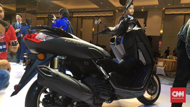 Yamaha NMax Baru Bisa Terkoneksi dengan Smartphone