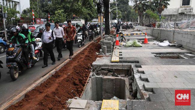 Bina Marga DKI: Kemang Sebelum Ada Trotoar Memang Sudah Macet
