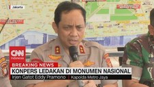 VIDEO: Polisi: Ledakan di Monas Berasal dari Granat Asap
