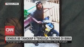 VIDEO: Densus 88 Tangkap 6 Terduga Teroris di Bima