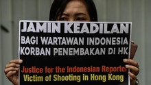 Jurnalis RI Tertembak di Hong Kong Masih Ingin Bekerja