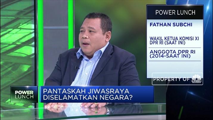 Streaming Komisi XI Buka-bukaan Soal Penyelamatan Jiwasraya