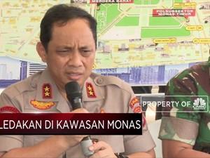 Penjelasan Lengkap Polisi dan TNI Soal Ledakan Monas