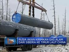Makin Mesra, Ini Proyek Pipa Gas China dan Rusia