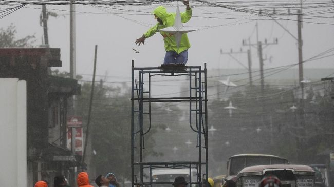 Ada Topan Kammuri di Fillipina, Hujan Lebat Landa Indonesia