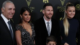 Messi Menangkan Ballon d'Or 2019