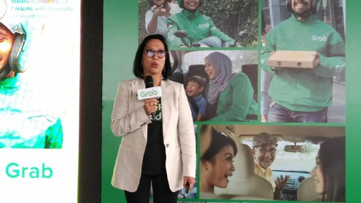 Neneng Goenadi, managing Director Grab Indonesia (CNBC Indonesia/Yuni Astutik)