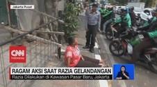 VIDEO: Dirazia Satpol PP, Gelandangan Histeris