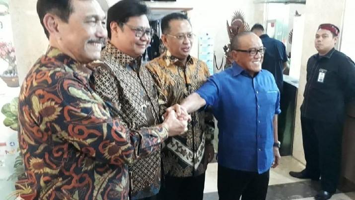 Demikian diungkapkan Bamsoet di kantor Kementerian Koordinator Bidang Kemaritiman dan Investasi, Jakarta, Selasa (3/12/2019).