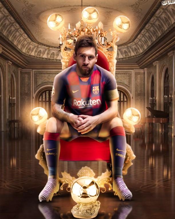 Netizen Kagum Messi Raih Ballon dOr 6 Kali