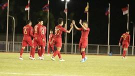 Babak Pertama SEA Games: Indonesia Unggul 1-0 atas Laos