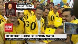 VIDEO: Pengamat: Ketum Baru Golkar Tetap Dukung Jokowi
