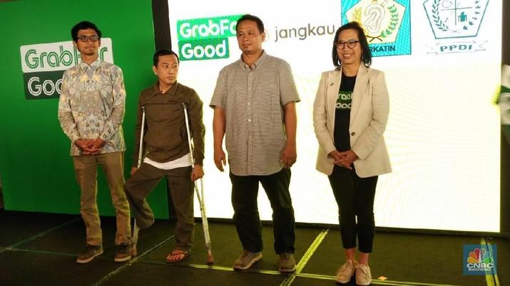 Grab Indonesia bekerjasama dengan Jangkau untuk penyaluran donasi menggunakan GrabRewards.