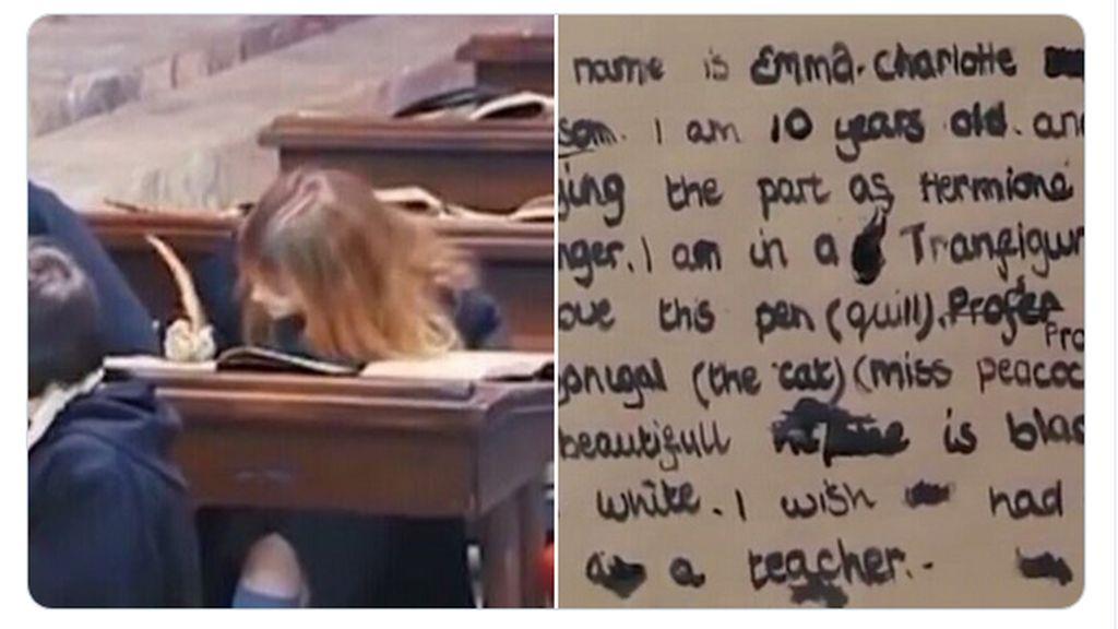Meme Tulisan Hermione di Film Harry Potter, Kocak-kocak Banget!