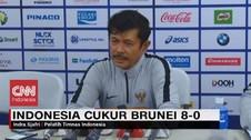 VIDEO: Target Tercapai, Indonesia Cukur Brunei 8-0