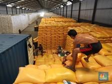Beras Impor Kuasai Gudang Bulog, Jumlahnya Sampai 52%