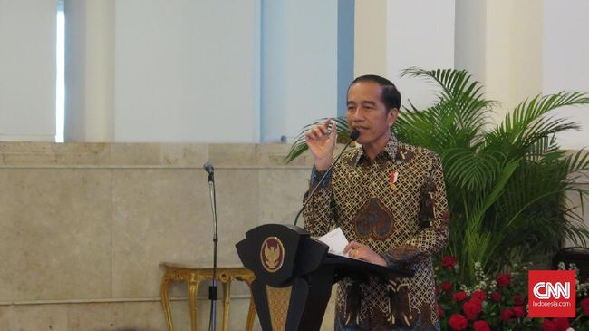 Jokowi: Golkar Panas, Politik Nasional Ikut Panas
