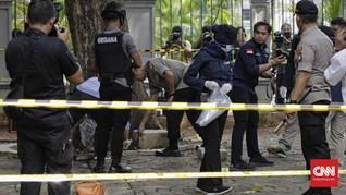Polisi Masih Dalami Jenis Granat yang Meledak di Monas