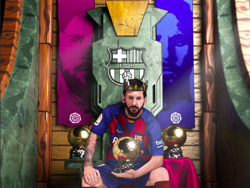 Kehebatan Messi memang tak terbantahkan, begitu konsisten di level tinggi sejak lama. Foto: istimewa