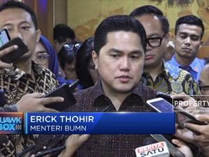 Erick Thohir Ubah Konsep Superholding BUMN