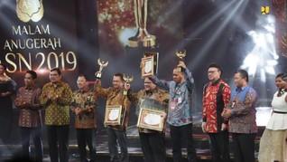 ASN Kementerian PUPR Raih Anugerah Pejabat Teladan 2019