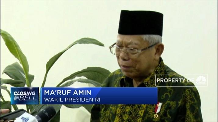 Ini kata Ma'ruf Amin Soal Penghapusan UN (CNBC Indonesia TV)