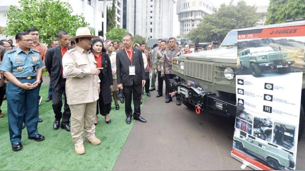 Pameran tersebut bertujuan untuk membangun kepercayaan bahwa industri pertahanan dan keamanan dalam negeri memiliki kemampuan.