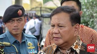Indo Barometer: Prabowo Paling Populer di Kabinet Jokowi
