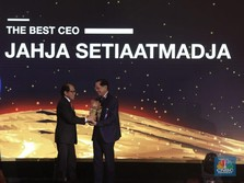 Jahja Setiaatmadja Didaulat Sebagai The Best CEO