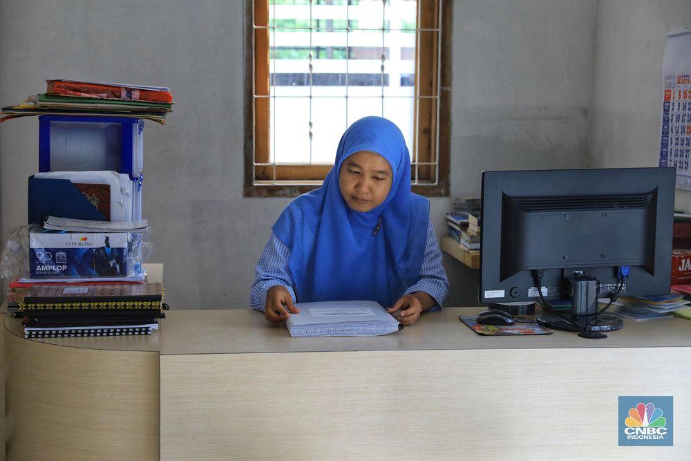 Perpustakaan itu dimiliki Yayasan Mitra Netra Jakarta