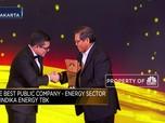 Indika Energy, Pemenang The Best Public Company Energy Sector
