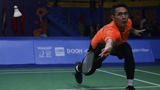 Hasil Malaysia Masters: Jonatan Kalah, Greysia/Apriyani Lolos