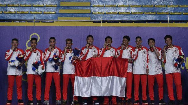 Klasemen Sementara SEA Games 2019: Indonesia Kelima