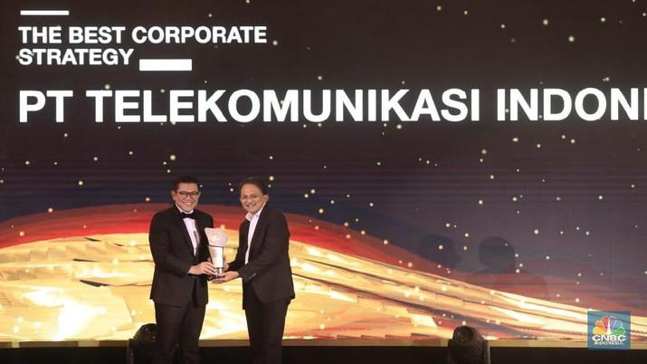 Telkom Borong Penghargaan CNBC Indonesia Awards 2019