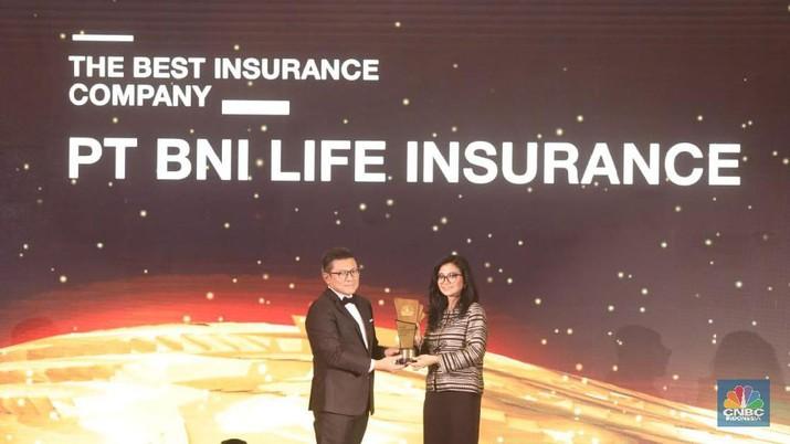 BNI Life Raih The Best Insurance Company