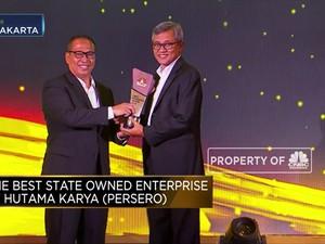 Hutama Karya, Pemenang The Best State Owned Enterprise